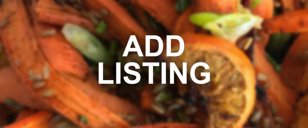 Add Listing to Sussex Vegan