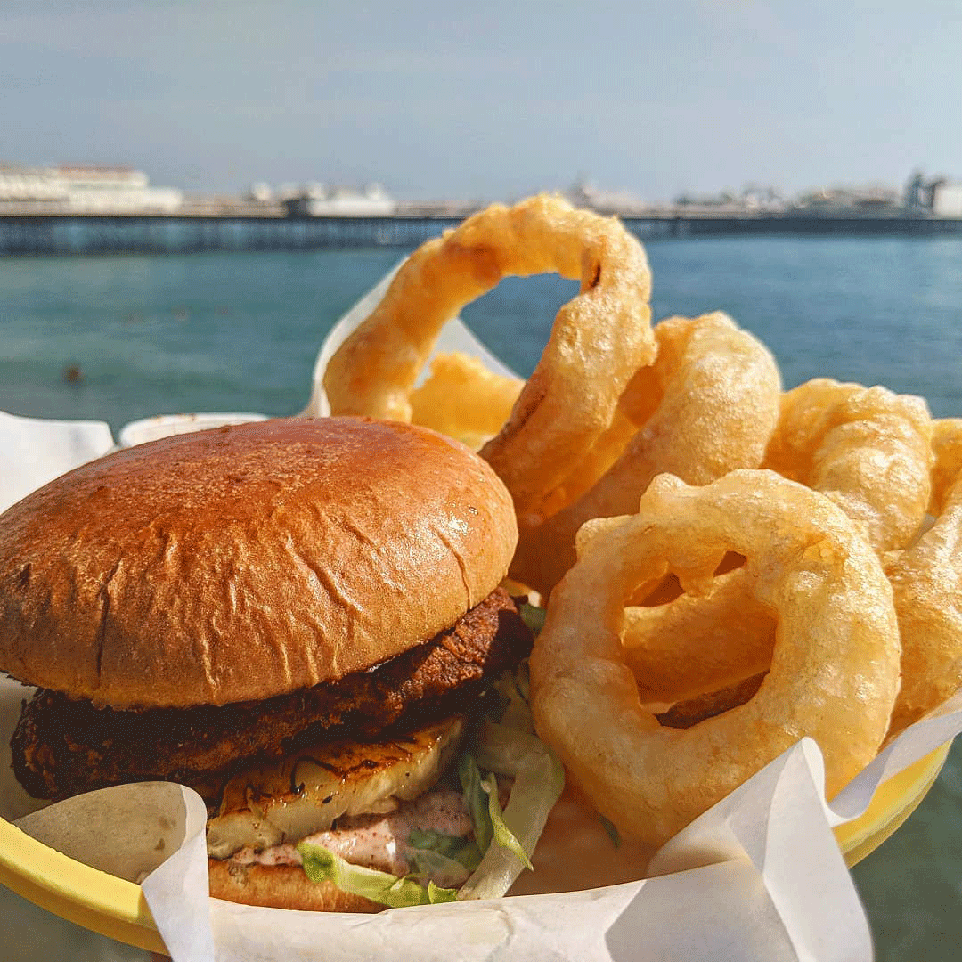 Brighton Vegan Vegan-Burger-Brighton