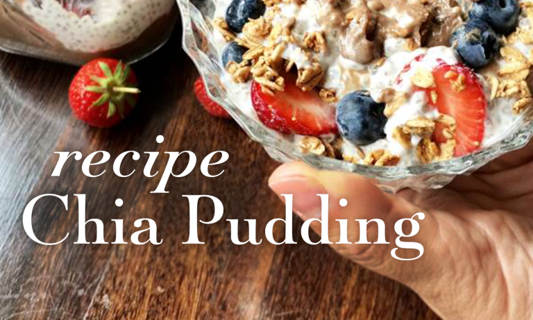 Vegan Chia Seed Pudding Recipe