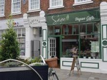 Sage Vegan Cafe in Crawley