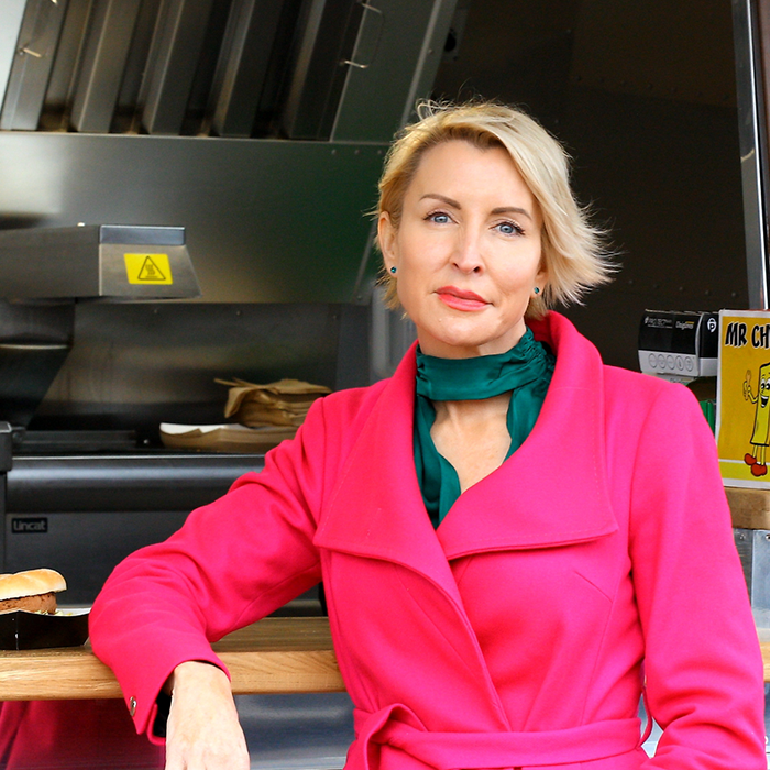 Heather Mills at Vegan Festival Eastbourne